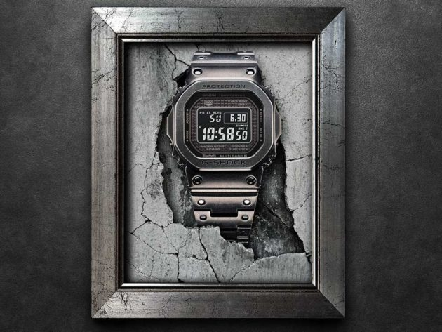 CASIO Aged IP G-Shock GMWB45000V Watch