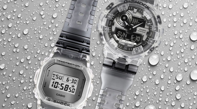 CASIO G-Shock Clear Skeleton Series