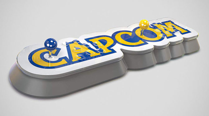 Capcom Announced Home Arcade Stick With 16 Pre-loaded Classic Titles