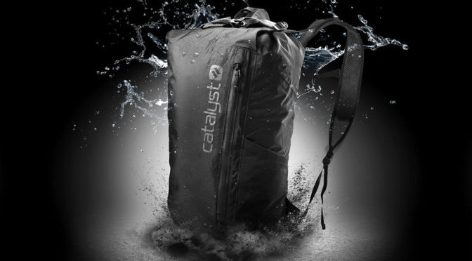 This 20L Backpack Is Waterproof, Packs Down To Slip Into Your Pocket