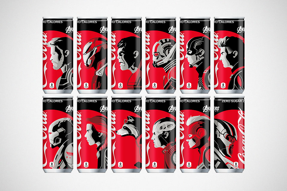 Coca-Cola Limited Edition Avengers Endgame Cans