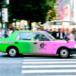 Tokyo's Taxis Change Vehicle Color To Indicate The Taxi's Status