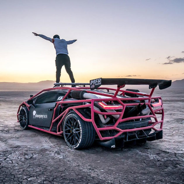 Custom Lamborghini Huracan Alex Choi