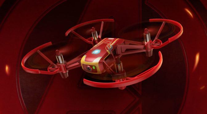 DJI Tello <em>Iron Man</em> Edition Lets You Fly In <em>Iron Man</em>'s Perspective