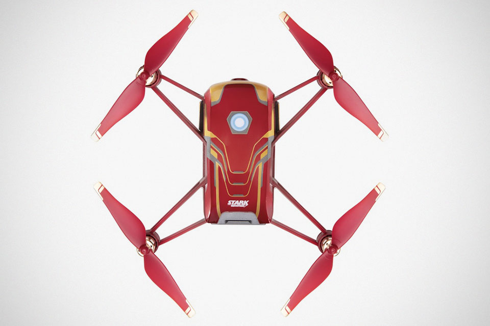 DJI Tello Iron Man Edition Drone