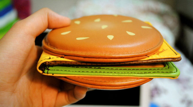 Cheeseburger Wallet: Putting Your Money Where The Burger Is