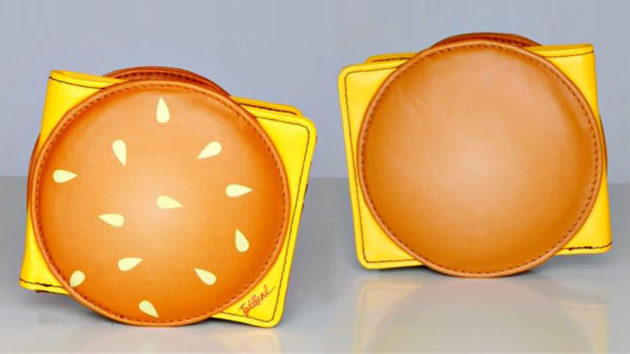 Deliciousness Burger Wallet by Toddland