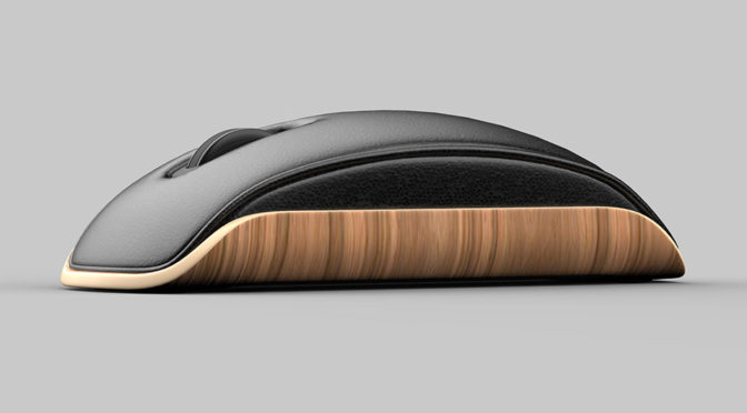 Eames-inspired Lounge Mouse by Shane Chen