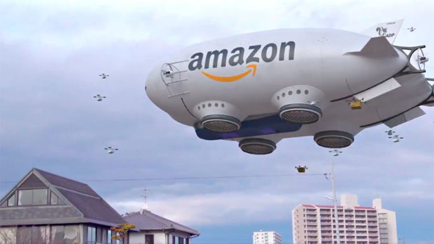 Fake Amazon Delivery Mothership Video