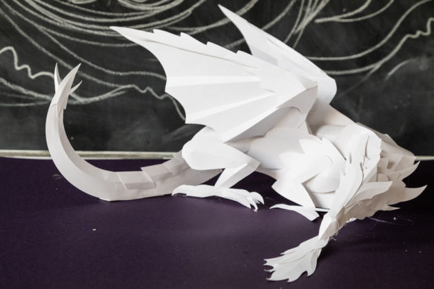Game of Thrones Fire Breathing Paper Dragon