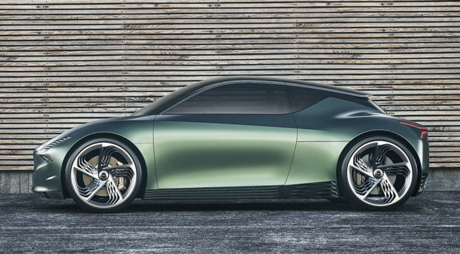 Genesis Mint Concept All-Electric Vehicle