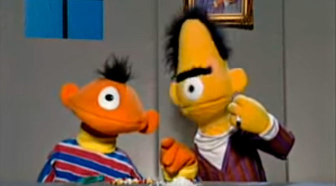 Germany Obscene Parody Bert and Ernie