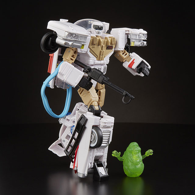 Hasbro Transformers Ghostbusters Mash-up Ecto-1 Ectrotron