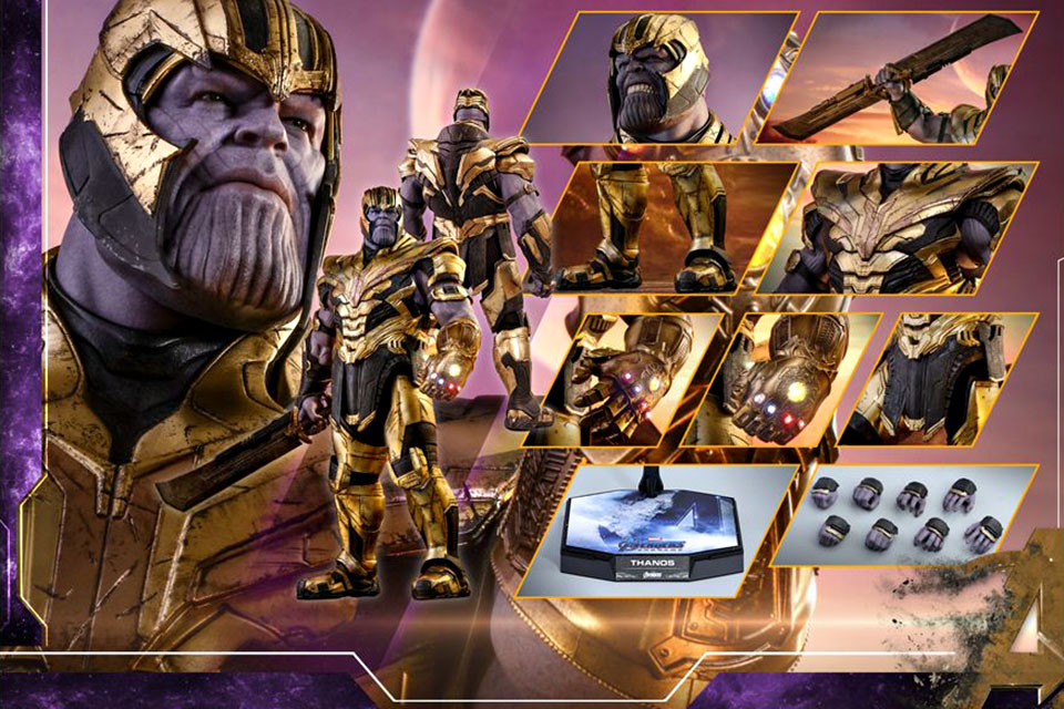Hot Toys Avengers: Endgame Thanos 1/6th Scale Collectible Figure