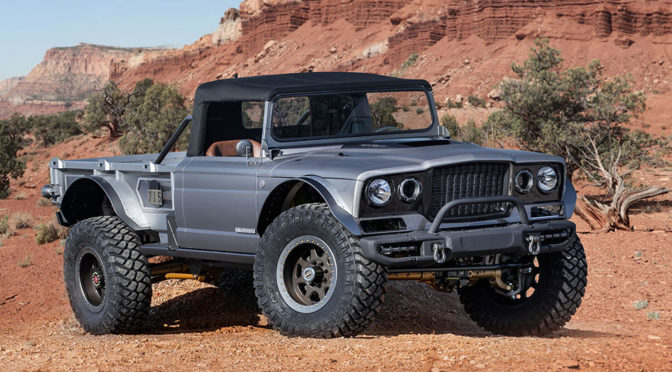 Jeep M-715 Five-Quarter Concept