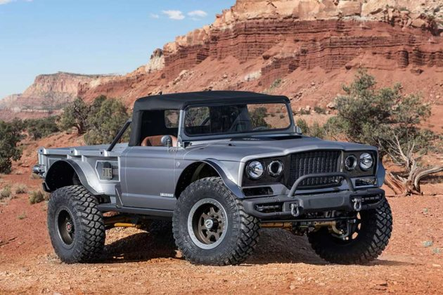 Jeep M-715 Five-Quarter Concept