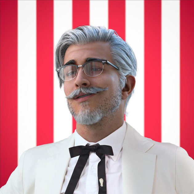 KFC Virtual Influencer Colonel
