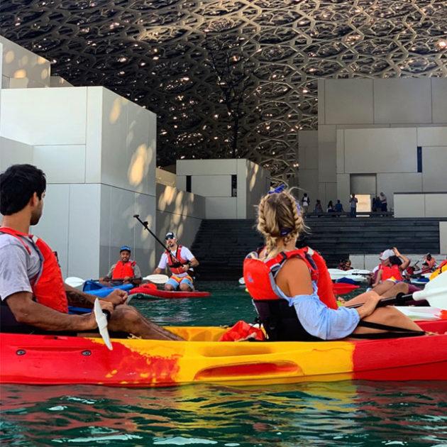 Kayak Tour Around Louvre Abu Dhabi