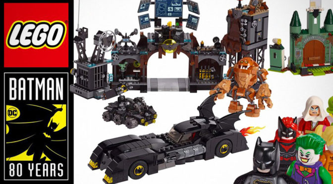 LEGO Batman 80th Anniversary Sets Revealed