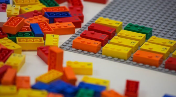 LEGO Testing LEGO Braille Bricks To Help Visually Impaired Children Learn