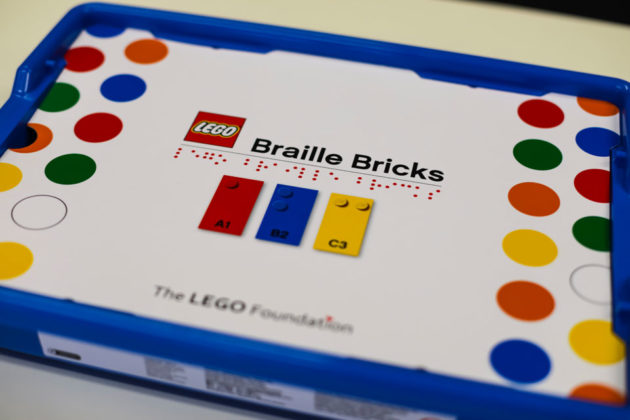 LEGO Braille Bricks Help The Blind Learn