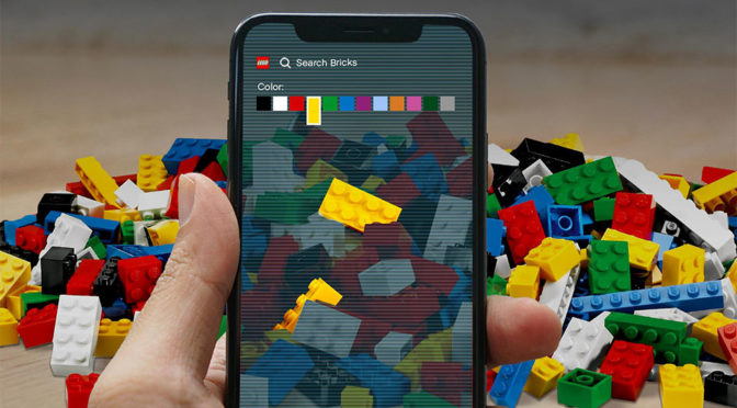 LEGO Find My Brick App April Fool's Day