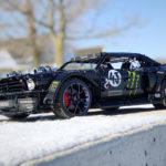 Someone Made A Drivable LEGO Technic Model Of Ken Block's Hoonicorn