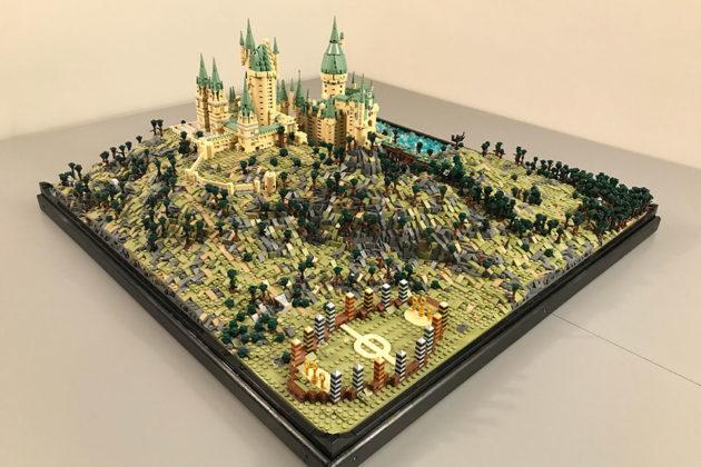 LEGO MOC Hogwarts Castle by Mathieu BL