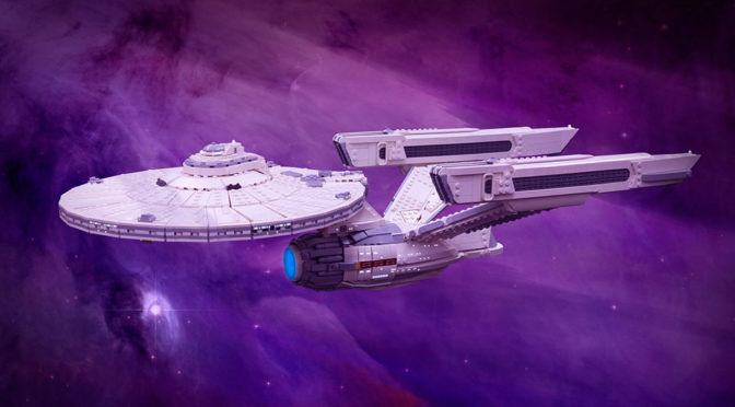 This Might Be The Best LEGO MOC <em>Star Trek</em> U.S.S. Enterprise Thus Far