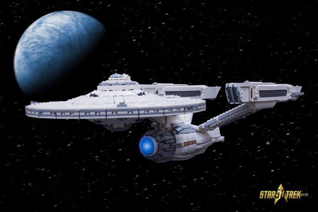 LEGO MOC Star Trek U.S.S. Enterprise Kevin J Walter