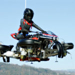 Lazareth LMV 496 Is A Flying Bike That Is Actually A Regular Motorcycle Too