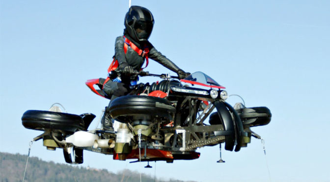 Lazareth LMV 496 Flying Motorcycle