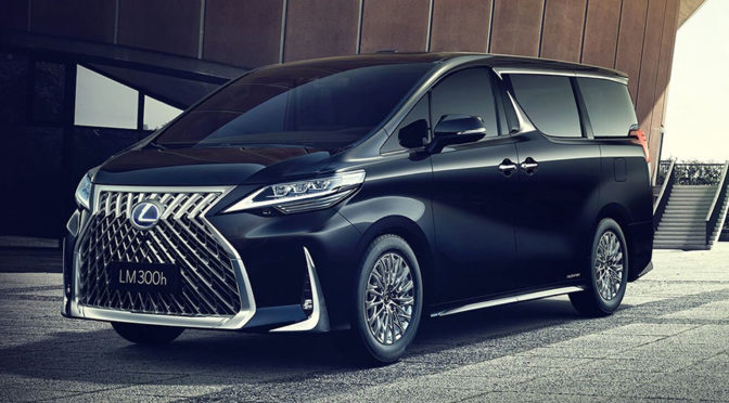 Lexus Luxuriates A Toyota Alphard Minivan, Calls It Lexus LM