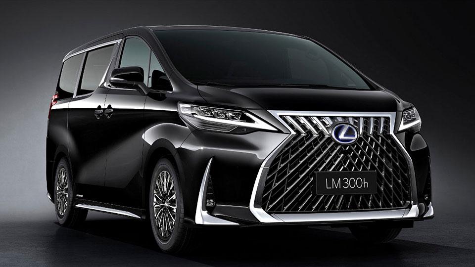 Lexus Luxuriates A Toyota Alphard Minivan Calls It Lexus