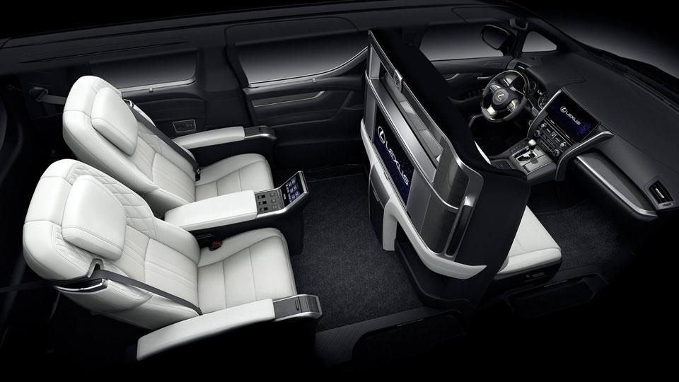 Lexus Unveiled LM Luxury Minivan Shanghai