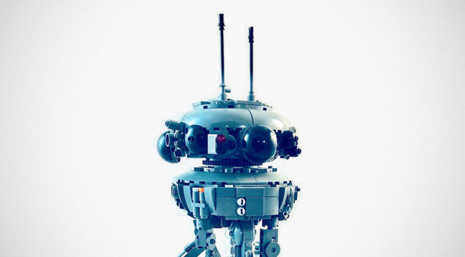 Lino Martins LEGO MOC Imperial Probe Droid