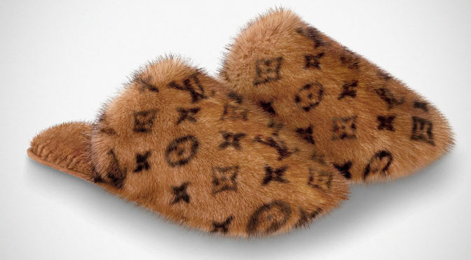 Louis Vuitton Is Selling This Pair Of Indoor Slippers For $1,520
