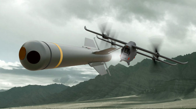 MBDA Spectre UAV Is Essentially A Flying Guided Missile Launcher