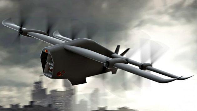 MBDA Spectre Electric VTOL Combat UAV