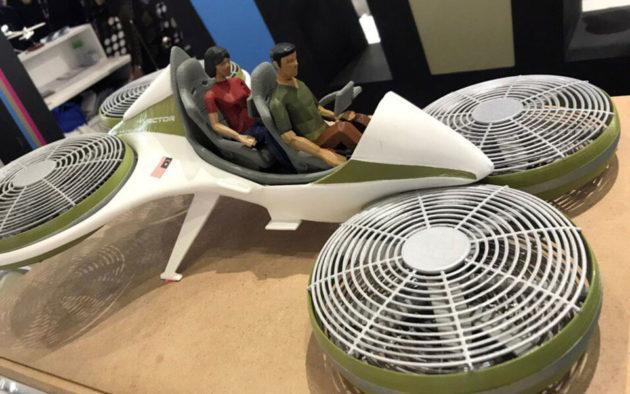 Malaysia Unveiled Flying Car Model