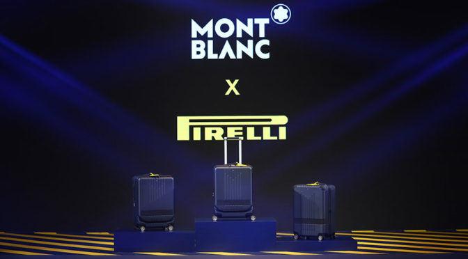 Montblanc x Pirelli Luggage Collection Unveiled