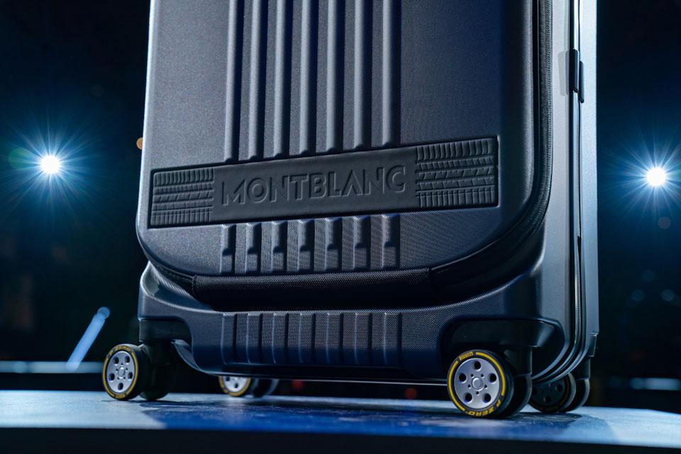 Montblanc x Pirelli Luggage Collection Unveiled