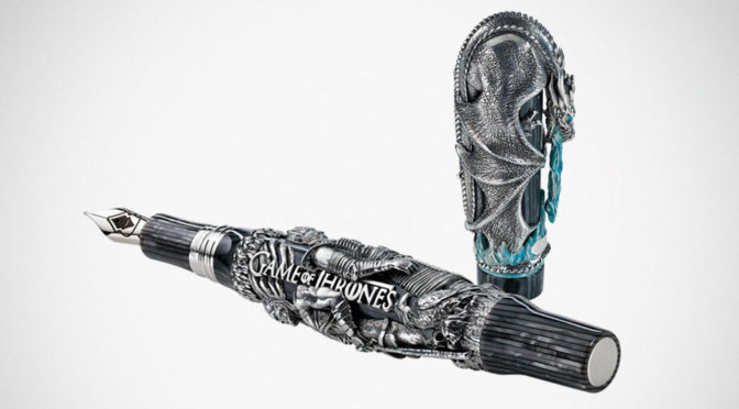 Montegrappa Game Of Thrones Winter is Here Pen