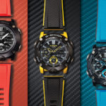 CASIO Introduces New G-Shock G-Carbon Series With Colorful Bands