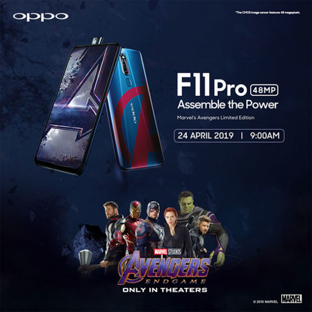 Oppo F11Pro Avengers Edition in Malaysia
