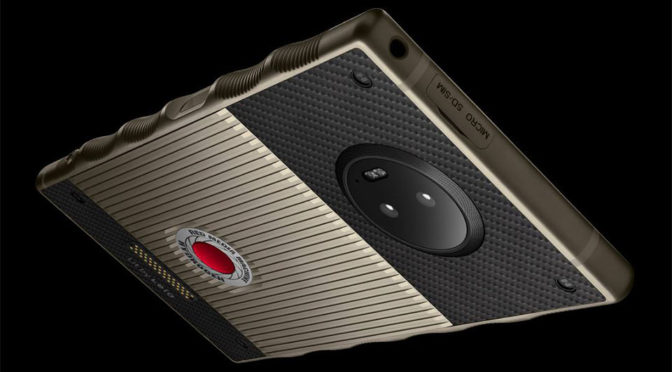 2017-<em>ish</em> Tech $1,600 RED Hydrogen One Titanium Starts Shipping