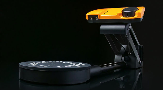 "SOL 3D Scanner Unveiled, Touted As ""The Most User-friendly"" 3D Scanner"