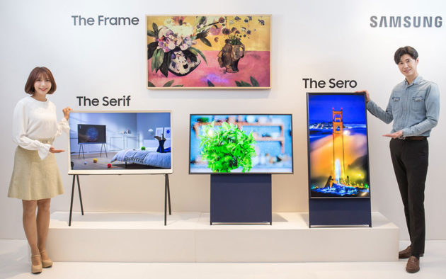 Samsung The Sero, The Serif and The Frame TVs