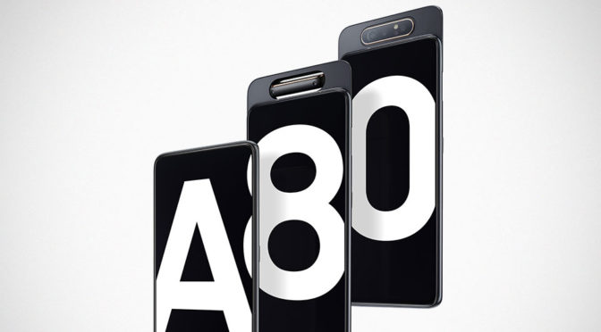 Samsung Galaxy A80 Combines Slide And Rotate For A Notch-less Display