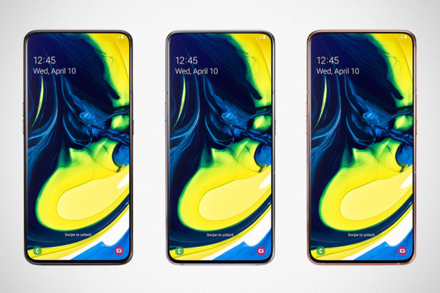 Samsung Galaxy A80 Smartphone